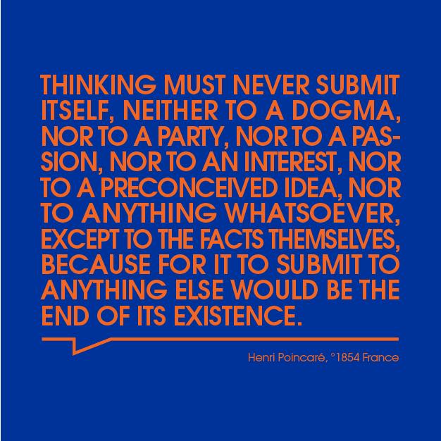 Thinking must never submit itself vub master photonics 01