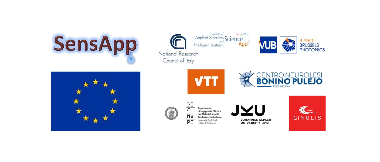 Sens App project EU Horizon 2020 VUB B PHOT 01