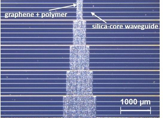 Graphene on silica chip new version